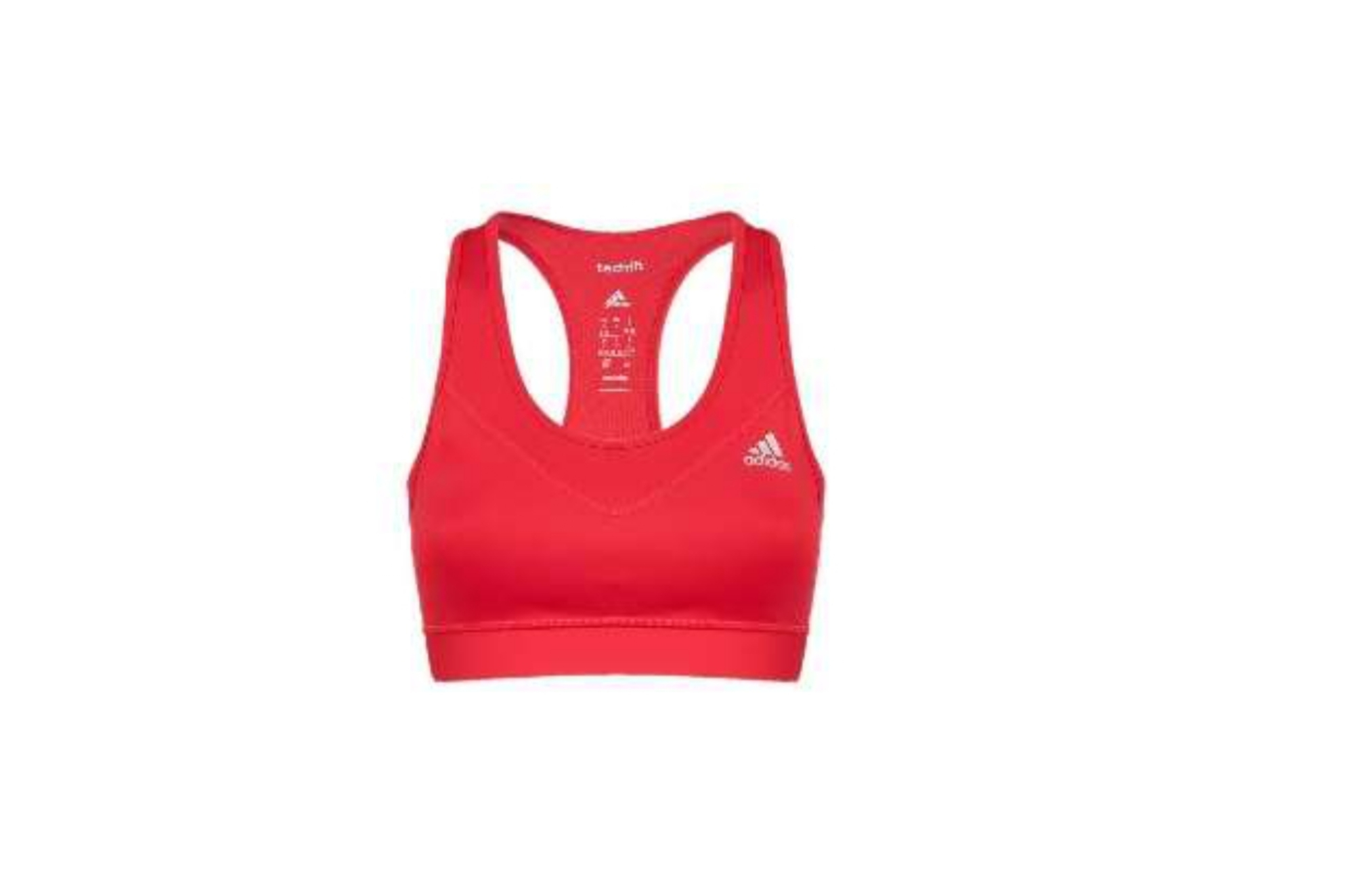 Top Adidas Donna Rosso