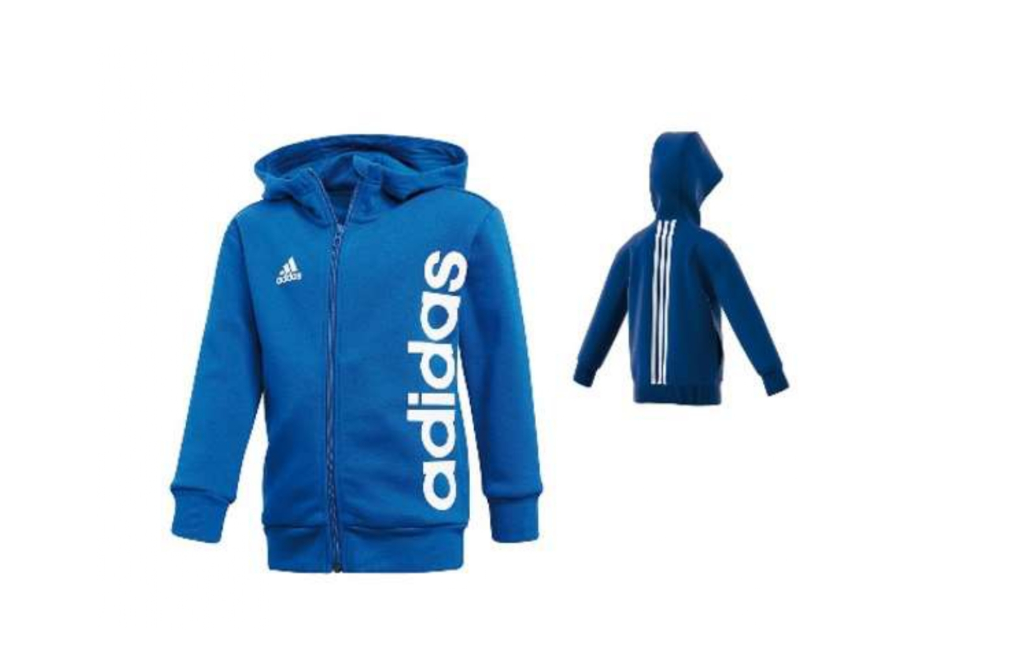 Felpa Adidas Junior Blu