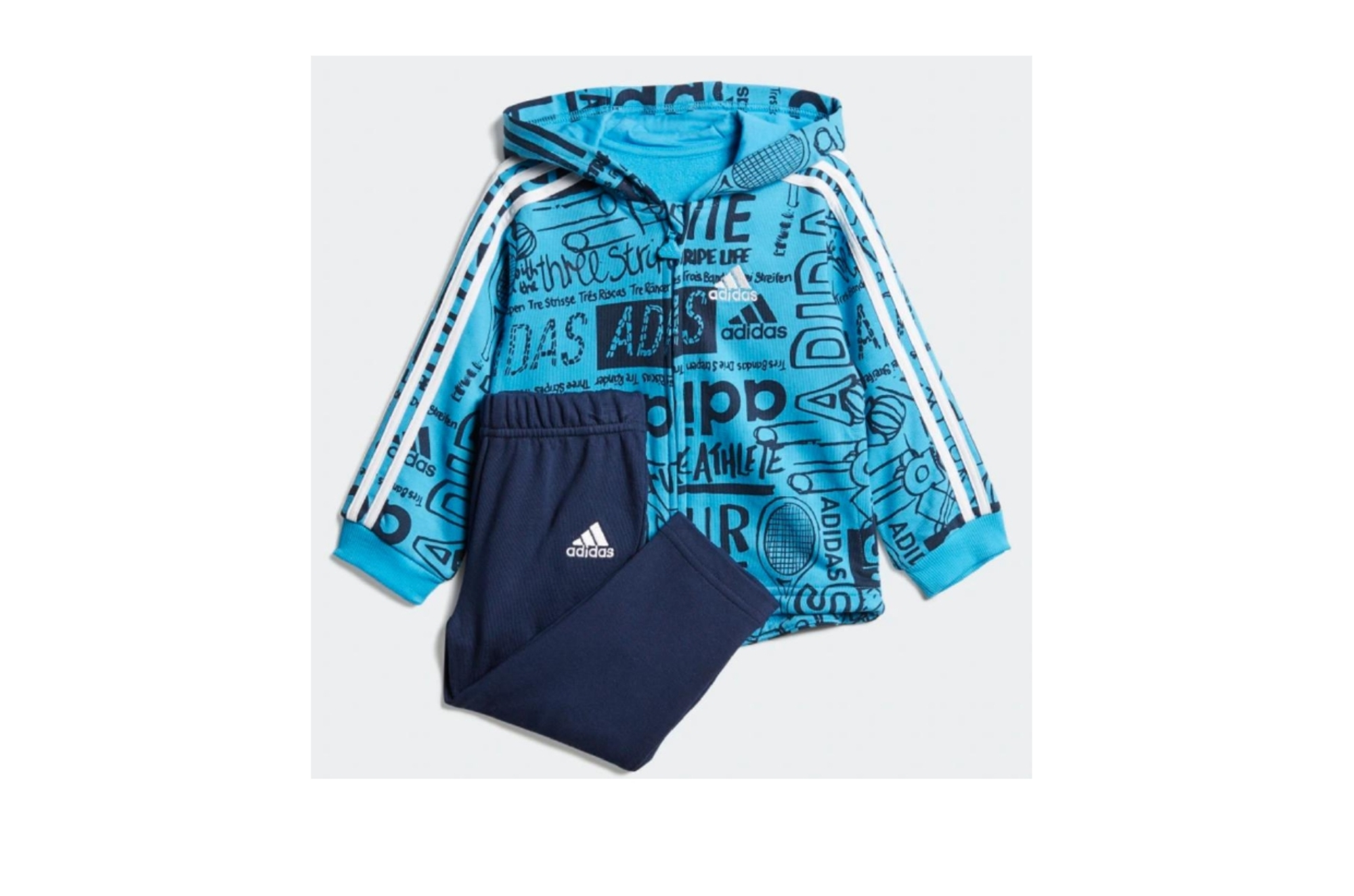 Tuta Adidas BABY Graphic Blue